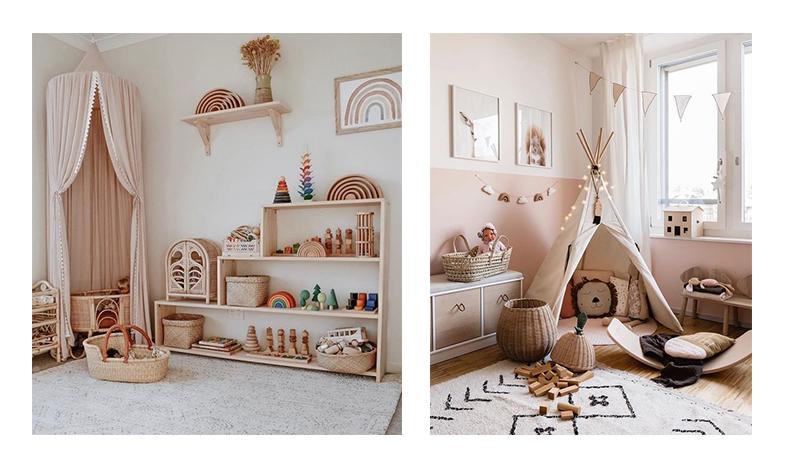 Amenajarea camerei copilului în stilul Montessori